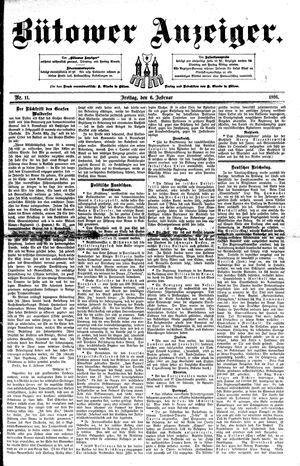Bütower Anzeiger vom 06.02.1891