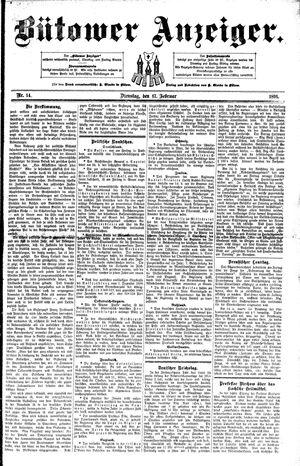 Bütower Anzeiger vom 17.02.1891