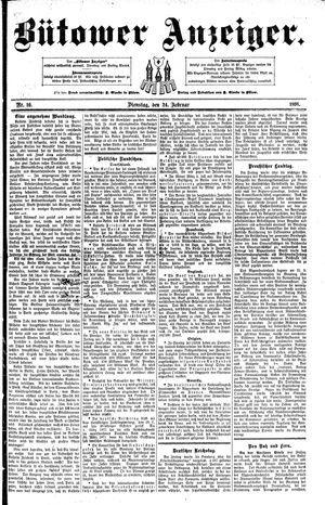 Bütower Anzeiger vom 24.02.1891