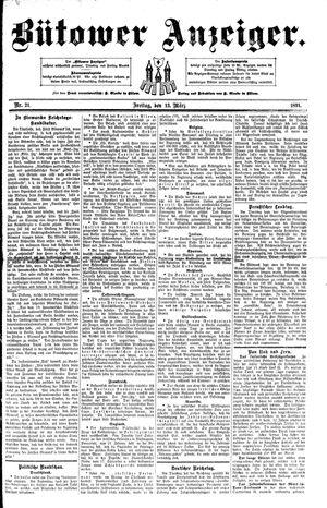 Bütower Anzeiger vom 13.03.1891