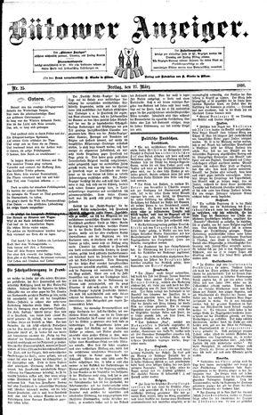 Bütower Anzeiger vom 27.03.1891