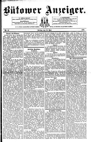 Bütower Anzeiger vom 29.05.1891
