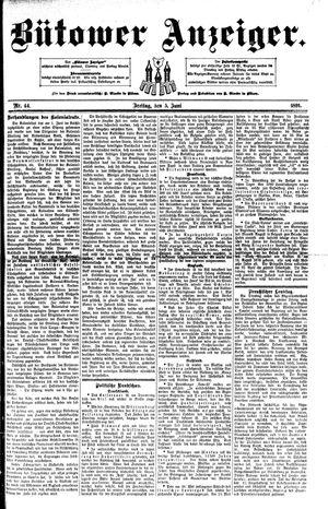 Bütower Anzeiger vom 05.06.1891