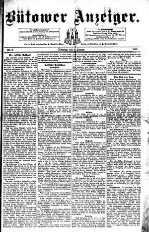 Bütower Anzeiger vom 05.01.1892
