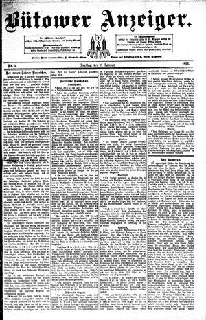 Bütower Anzeiger vom 08.01.1892