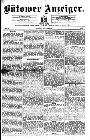 Bütower Anzeiger vom 02.02.1892