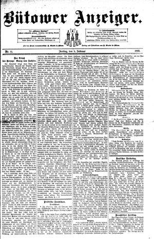 Bütower Anzeiger on Feb 5, 1892