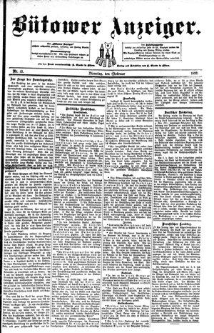 Bütower Anzeiger vom 09.02.1892