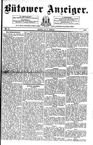 Bütower Anzeiger vom 12.02.1892
