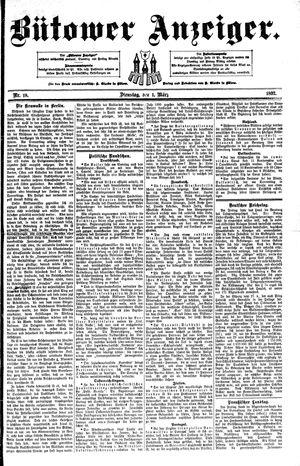 Bütower Anzeiger vom 01.03.1892