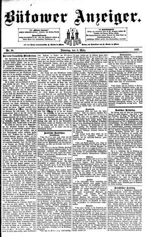 Bütower Anzeiger vom 08.03.1892