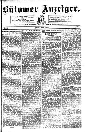 Bütower Anzeiger vom 11.03.1892
