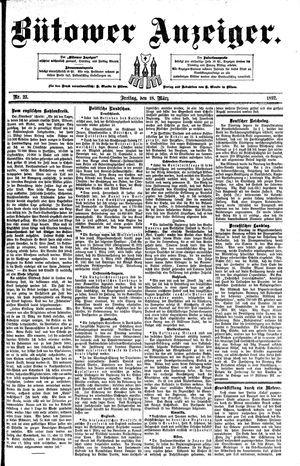 Bütower Anzeiger vom 18.03.1892