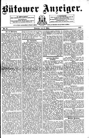 Bütower Anzeiger vom 29.03.1892