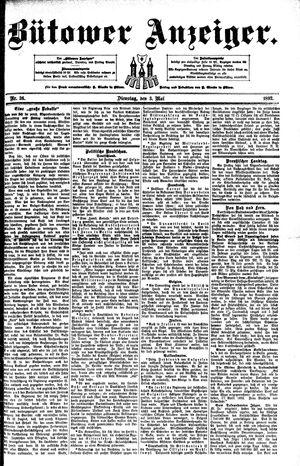 Bütower Anzeiger vom 03.05.1892
