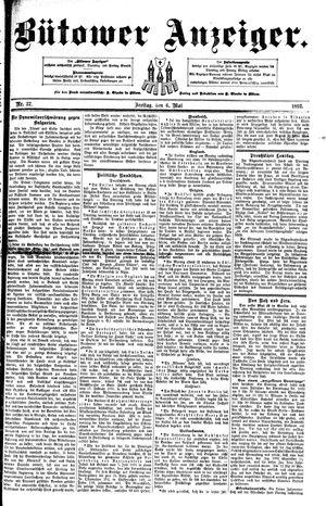 Bütower Anzeiger vom 06.05.1892