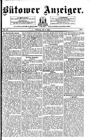 Bütower Anzeiger vom 17.05.1892