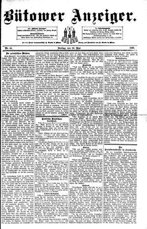Bütower Anzeiger vom 20.05.1892