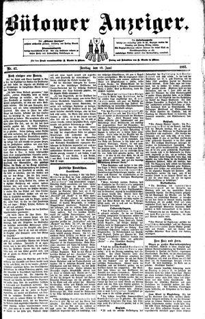 Bütower Anzeiger vom 10.06.1892