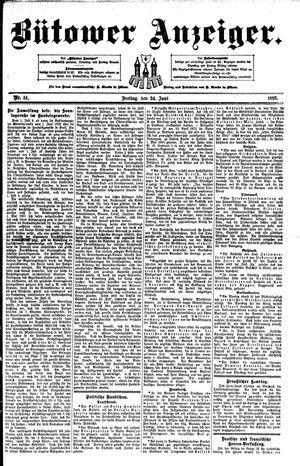Bütower Anzeiger vom 24.06.1892
