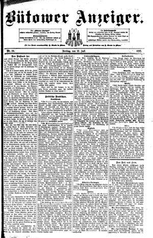 Bütower Anzeiger vom 22.07.1892