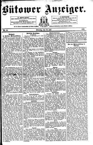 Bütower Anzeiger vom 26.07.1892