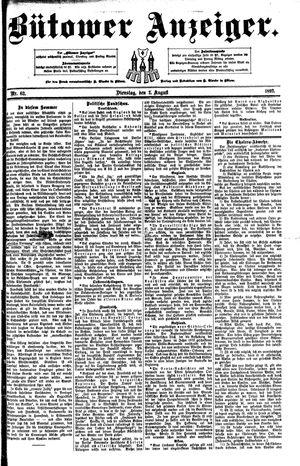 Bütower Anzeiger vom 02.08.1892