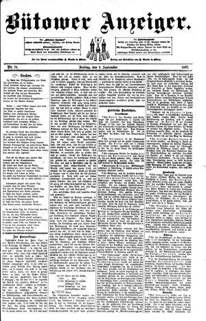 Bütower Anzeiger vom 02.09.1892
