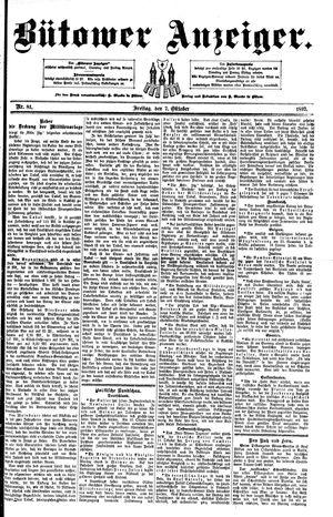 Bütower Anzeiger vom 07.10.1892