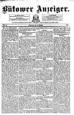 Bütower Anzeiger vom 18.10.1892