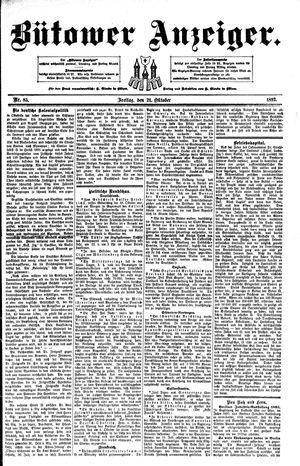 Bütower Anzeiger vom 21.10.1892