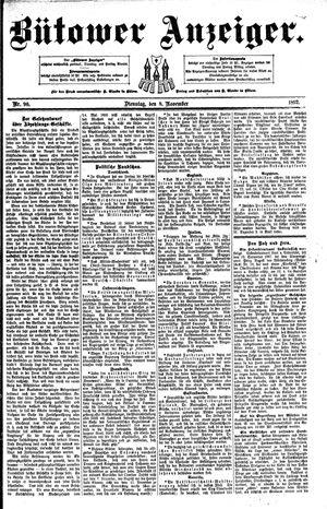 Bütower Anzeiger vom 08.11.1892