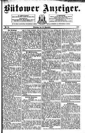 Bütower Anzeiger vom 29.11.1892