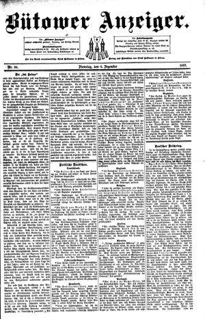Bütower Anzeiger vom 06.12.1892