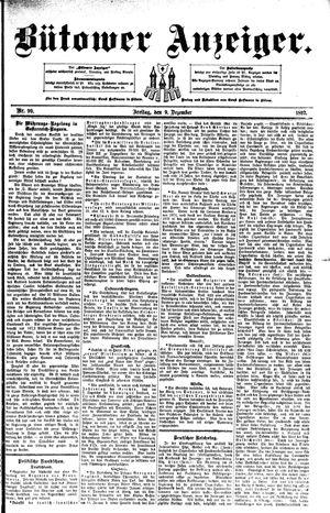 Bütower Anzeiger vom 09.12.1892
