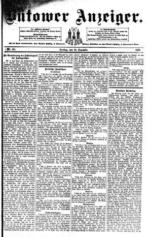 Bütower Anzeiger vom 16.12.1892