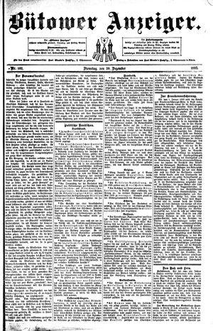Bütower Anzeiger vom 20.12.1892