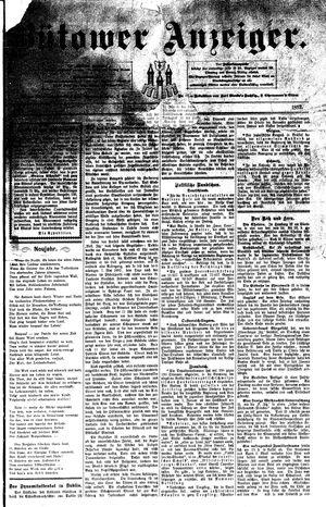 Bütower Anzeiger vom 30.12.1892