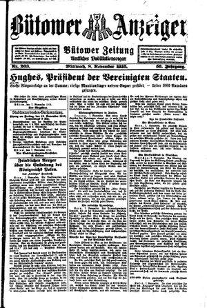 Bütower Anzeiger vom 08.11.1916