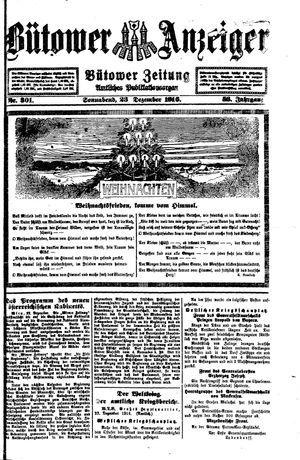 Bütower Anzeiger vom 23.12.1916
