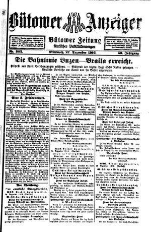 Bütower Anzeiger vom 27.12.1916