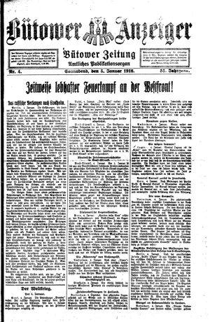 Bütower Anzeiger vom 05.01.1918
