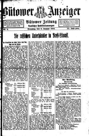 Bütower Anzeiger vom 08.01.1918