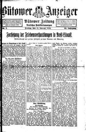 Bütower Anzeiger vom 11.01.1918