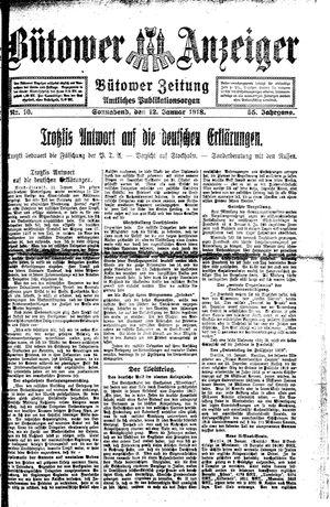 Bütower Anzeiger vom 12.01.1918