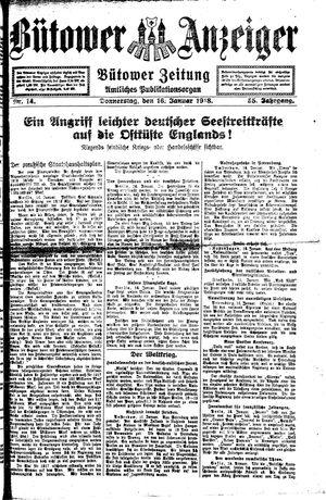 Bütower Anzeiger vom 17.01.1918