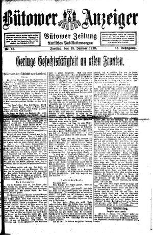 Bütower Anzeiger vom 18.01.1918