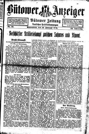 Bütower Anzeiger vom 16.02.1918