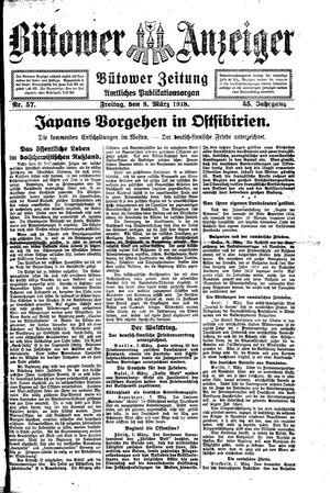 Bütower Anzeiger vom 08.03.1918