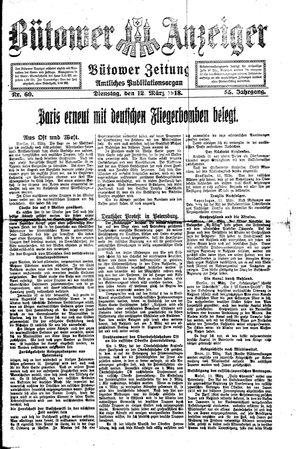 Bütower Anzeiger vom 12.03.1918